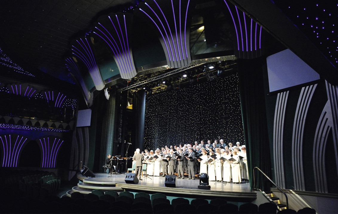 photo 1 de la chorale en croisière
